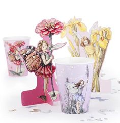 KidsPartyKitchen  Flower Fairy table friends