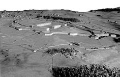 Plan-relief du Fort Des Rousses, réalisé en 1859 (en réserve). Notice du plan-relief : http://www.museedesplansreliefs.culture.fr/collections/maquettes/recherche/fort-des-rousses   Photo © Musée des Plans-reliefs
