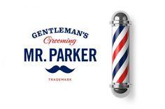 Identidad para los productos de afeitado Mr. Parker