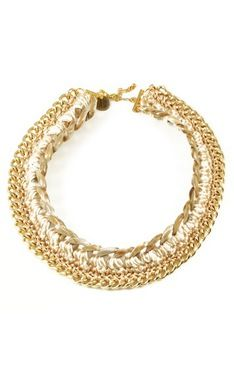 Beni Gold Necklace by Andrea Bocchio