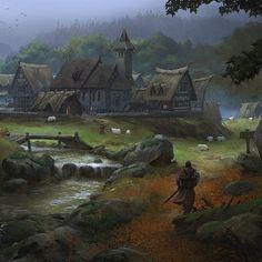 Carta imprevisto villaggio tranquillo: puoi conservare questa carta e utilizzarla per sottrarti ad una battaglia contro una creatura di livello forte o inferiore.