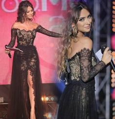 vintage black evening dresses with slit 2017 boat neck long sleeve lace long women pageant gown for formal party vestido noiva-in Evening Dresses from Weddings & Events on Aliexpress.com | Alibaba Group