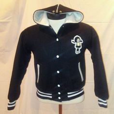 GIRL'S CHEERLEADER PUEBLO HIGH SCHOOL LETTERMAN VARSITY JACKET FOOTBALL SMALL | eBay