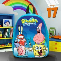 Description Backpack Kids --------------------------- This adjustable backpack is perfect for both preschool and elementary school students who wish to express their personality in style.  Features --