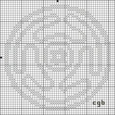Symbols and Signs: Free Patterns of Ancient Symbols: Free Hecate's Wheel Cross Stitch Pattern