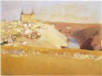 Joaquín Sorolla y Bastida, View of Toledo on ArtStack #joaquin-sorolla-y-bastida #art