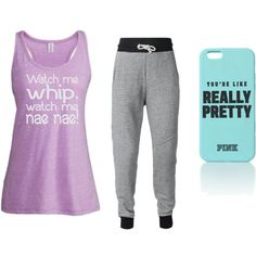 whatch me whip nae nae by brisantos on Polyvore featuring polyvore fashion style Victoria's Secret