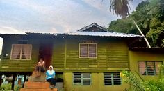 Traditional Malay house @ Pangkor Island