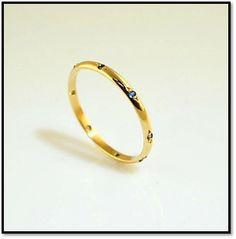 Coleção Miscelânea  - Em ouro amarelo 18k e safiras