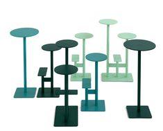 """Von Borselius & Bernstrand stammt """"Combo"""", eine Serie von drei Tischen und Sitzen, die auch in einem Stück zusammen auftreten können. © Blå Station Contract Furniture, Office Workspace, Foot Rest, Stockholm, Scandinavian, Indoor, Workspaces, Offices, Design"""