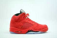Air Jordan 5 AAAA Suede Men shoes