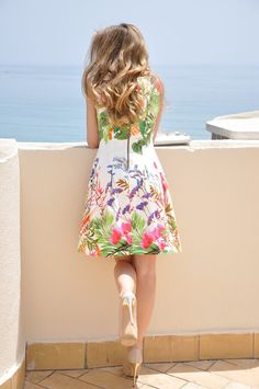 My floral print dress - Te cuento mis trucos