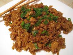 Kínai rizses hús