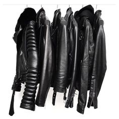 Men's Leather Jackets: How To Choose The One For You. A leather coat is a must for each guy's closet and is likewise an excellent method to express his individual design. Leather jackets never head out of styl Leather Fashion, Leather Men, Black Leather, Mens Fashion, Leather Jackets, Biker Jackets, Men's Jackets, Custom Leather, Ootd Fashion
