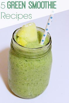 Green Smoothie Recipes- delicious and healthy!