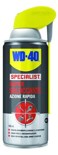 WD-40 SUPER SBLOCCANTE AD AZIONE RAPIDA ML. 400 https://www.chiaradecaria.it/it/spray-lubrificanti/21709-wd-40-super-sbloccante-ad-azione-rapida-ml-400-5032227393486.html