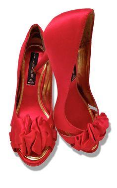 Steve Madden Pumps Rubinrote Pantoffeln, Heiße Schuhe, Absatzschuhe, Schuh  Stiefel, Schuhbeutel, 276e1944ec