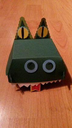 Drachenschachtel mit Stampin Up Hamburger Box