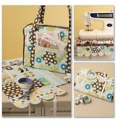 Project Tote Organizer PinCushion Machine Skirt McCalls Pattern 5871