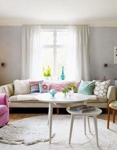Ideas para decorar con muchos colores
