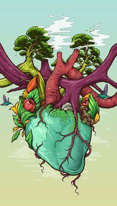 Natureza:nosso coração,nossa vida!: