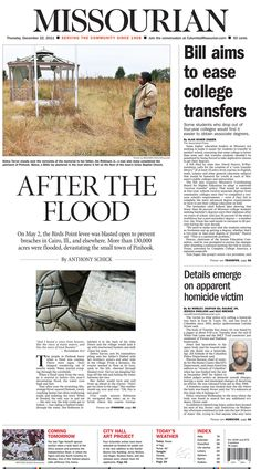 #Newspaper #Design #48 | Missourian