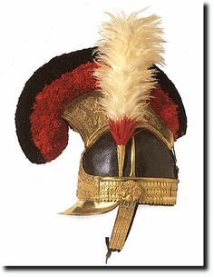 TU4.10 The funny hat. British Empire: Armed Forces: 1st Life Guards: Helmet, 1815