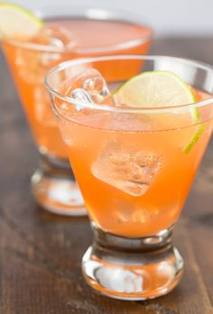 Looking for a fun cocktail to serve? If you are a gin lover, this cocktail is for you! The Aperol Gin Cocktail is a refreshing drink filled with gin, cucumber and lime.