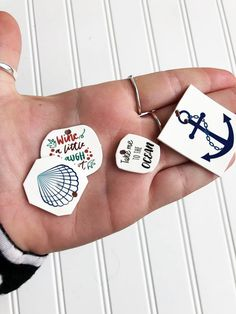 Your Favorite Summer Key Chains- Shrink with Ink - NuFun Activities
