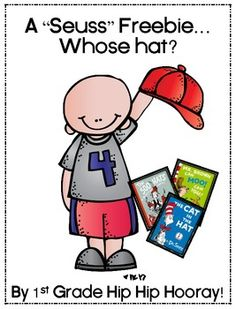 "A ""Seuss"" Freebie...Whose Hat? - pinned by @PediaStaff – Please Visit  ht.ly/63sNt for all our pediatric therapy pins"
