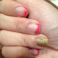 Gelish Nails for CNY 2012