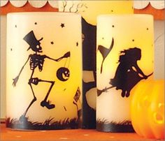 Spooktacular Halloween Decor to help get your home ready for the holiday. Personalized Candles, Halloween Decorations, Table Lamp, Holiday, Home Decor, Lamp Table, Vacations, Custom Candles, Interior Design