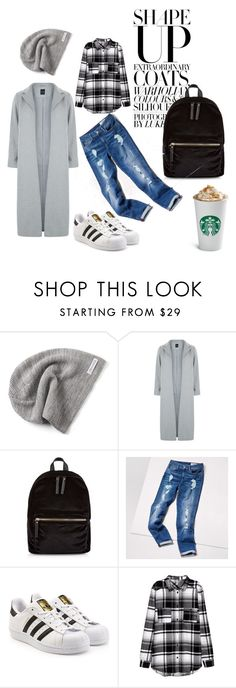 """""""Untitled #2"""" by nikoleta-anic ❤ liked on Polyvore featuring Converse, New Look, Tommy Hilfiger and adidas Originals"""