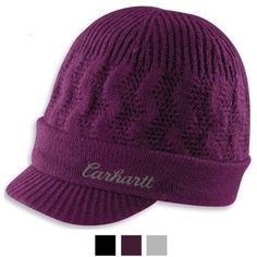 Carhartt Women's Knit Visor Hat