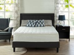 Looking for Sleep Master 12 Euro Box Top Pocketed Spring Mattress - Queen ? Check out our picks for the Sleep Master 12 Euro Box Top Pocketed Spring Mattress - Queen from the popular stores - all in one. Euro Top Mattress, Mattress Sets, Pillow Top Mattress, Queen Mattress, Mattress Springs, Best Mattress, Foam Mattress, Mattress Pad, Box Tops
