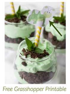 Grasshopper Mint Parfait Remember the Grasshopper cookies you loved as ...