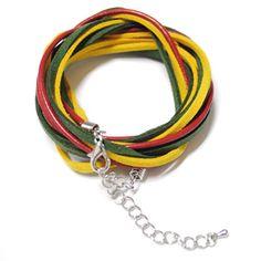 (OP410-YELLOW) Mens Casual Bracelet $12.5