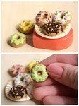 DIY clay charms