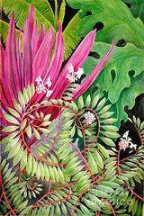 Janet Summers-Tembeli - Tropical Garden