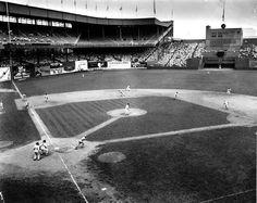 Image detail for -new-york-giants--polo-grounds Baseball Park, Sports Baseball, Baseball Field, Baseball Stuff, Baseball Posters, Sports Pics, Giants Baseball, Baseball Photos, New York Stadium