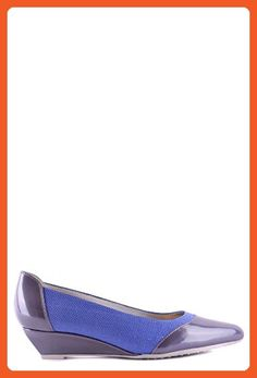2f2afe0b96e311 Hogan Women s Mcbi148241o Blue Leather Flats - Flats for women ( Amazon  Partner-Link)