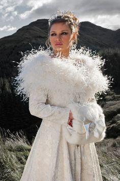 Snow Queen Style Wedding Dresses
