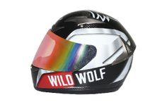 Shiro Helmet SH-335 Wild Wolf  Descubre las características de uno de los mejores cascos de carbono del mercado en http://shirohelmet.com/es/casco/3-wild-wolf-racing-shiro-helmet-sh-335-cod.773.html