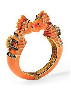 Juicy Couture Seahorse Bangle Bracelet