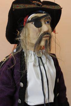marionette Pirate_1 marioneta puppet ooak por Etceteramarionetas