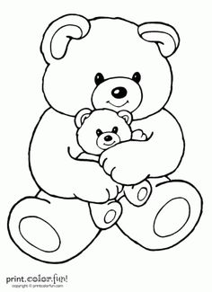 teddy bear coloring pages | Teddy Bear Coloring Pages | print outs ...