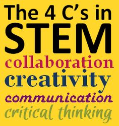 Starfish Education: The 4C's in STEM: Creativity, Communication, Crticial Thinking, Collaboration