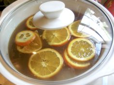 Crock pot apple cider!