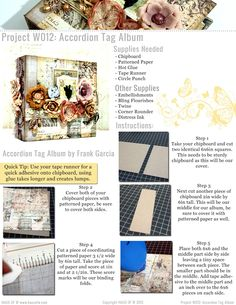 Haus Of W: Project W Project Sheets