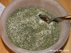 Home-made Ranch Dressing Mix